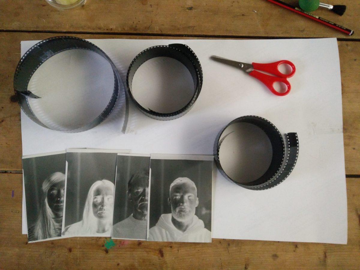 Various black and white negatives